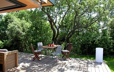 Terrasse en sapin autoclave bois extérieur