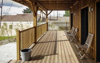 Lame terrasse bois en pin traité