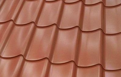 tôle de toiture acier imitation tuile